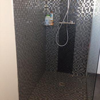 Salle de bains pâte de verre - Capbreton