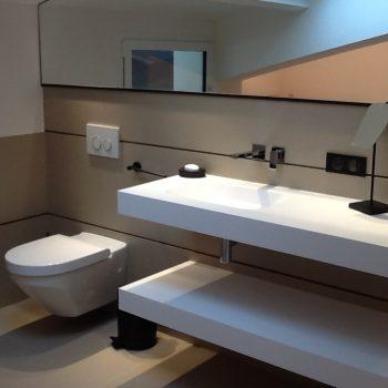 Salle de bains joints epoxy - Hossegor